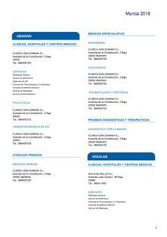 Cuadro médico Helvetia Murcia