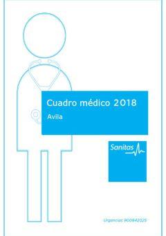 Cuadro médico Saludcor Ávila
