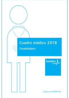 Cuadro médico Santalucía Guadalajara